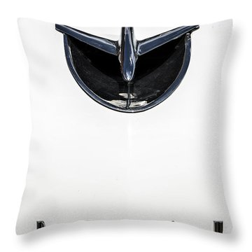 1956 Buick Special Hood Ortiment Throw Pillow