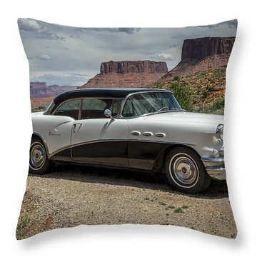 1956 Buick Special Throw Pillow