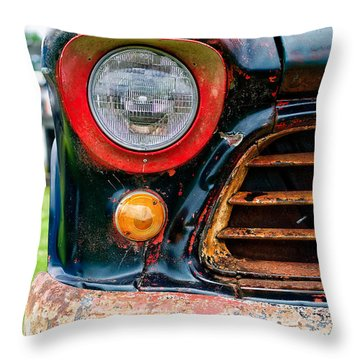 Classic Chevy Truck Throw Pillows