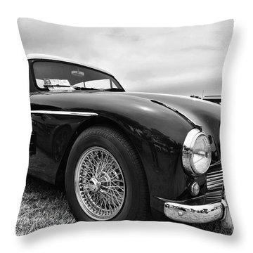 1957 Astin Martin Throw Pillow