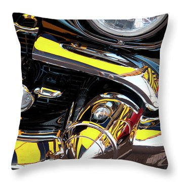 Throw Pillow featuring the photograph 1957 Chevy by Roger Mullenhour