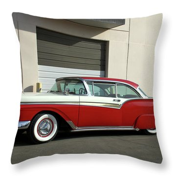 1957 Ford Fairlane Custom Throw Pillow