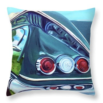 1958 Reflections Throw Pillow