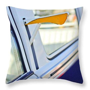 1958 Volkswagen Vw Bus Turn Signal Throw Pillow