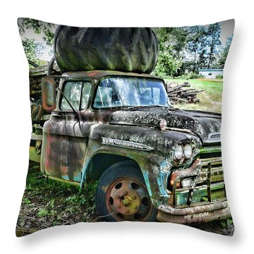 1959 Chevrolet Viking 60 Throw Pillow by Paul Ward