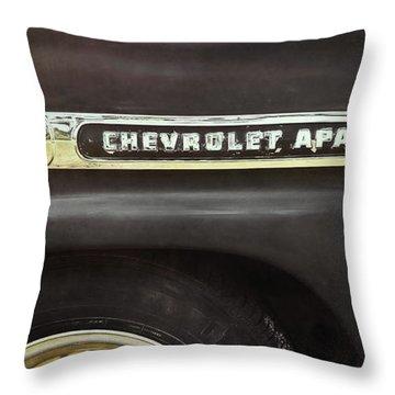 1959 Chevy Apache Throw Pillow