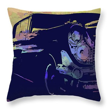 1959 Lincoln Continental Abs Throw Pillow