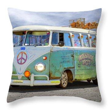 1959 Vw Bus Throw Pillow