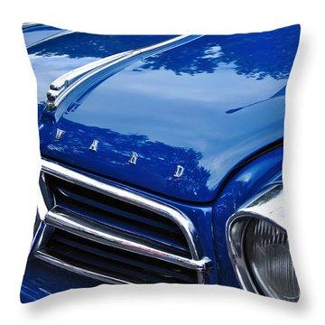 1960 Borgward Isabella Coupe Throw Pillow by Kaye Menner