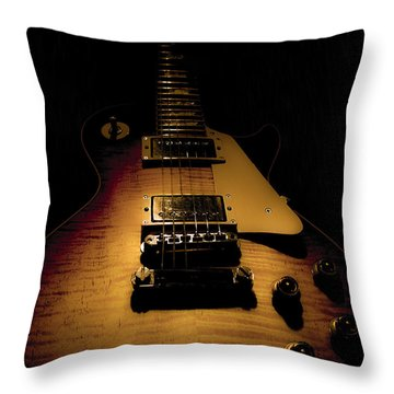 1960 Reissue Guitar Spotlight Series Throw Pillow