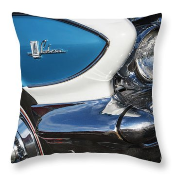Throw Pillow featuring the photograph 1961 Buick Le Sabre by Dennis Hedberg