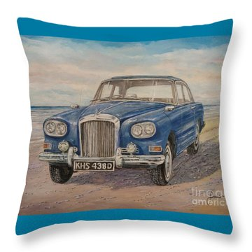 1963 Bentley Continental S3 Coupe Throw Pillow
