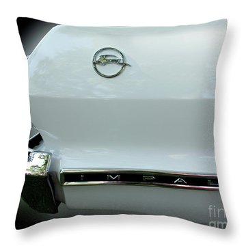 1963 Chevy Impala Throw Pillow by Peter Piatt
