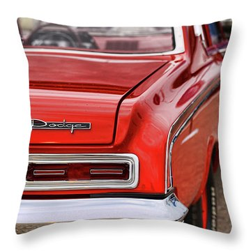 1963 Dodge 426 Ramcharger Max Wedge Throw Pillow by Gordon Dean II