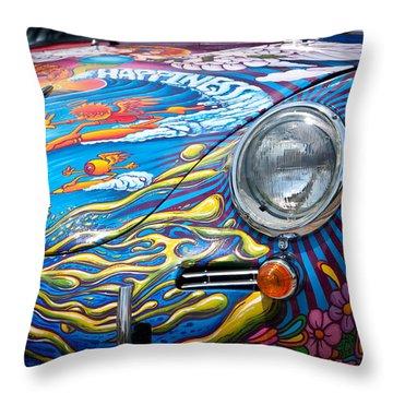 1963 Porsche Throw Pillow