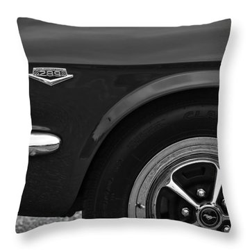 1964.5 Ford Mustang - 289 High Performance Throw Pillow by Gordon Dean II