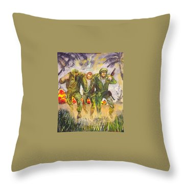 1965 Viet Nam Throw Pillow