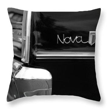 1966 Chevy Nova II Throw Pillow