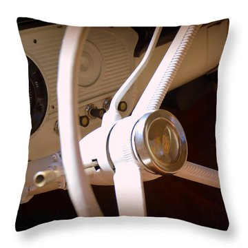 1966 Ford F100 Interior Throw Pillow