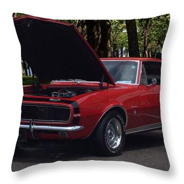 1968 Camaro Throw Pillow