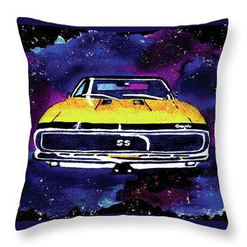 1967 Chevy Camaro Ss Throw Pillow
