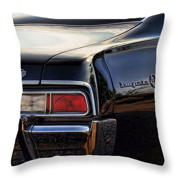 1967 Chevy Impala Ss Throw Pillow by Gordon Dean II