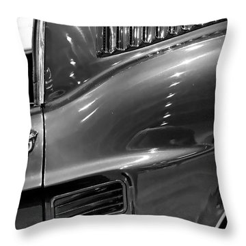 1967 Ford Mustang Fastback Throw Pillow by Gordon Dean II
