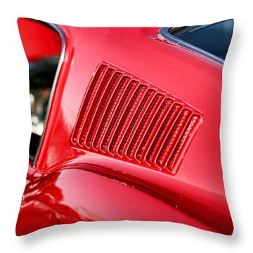1967 Ford Mustang Gt  Throw Pillow by Gordon Dean II