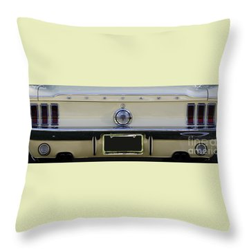 1968 Mustang Gt Fastback Throw Pillow
