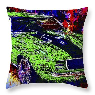 1969 Camaro Z28 Throw Pillow