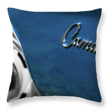 1969 Chevrolet Camaro Z28 Emblem Throw Pillow