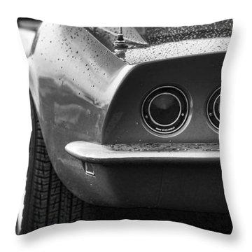 1969 Chevrolet Corvette Stingray Throw Pillow