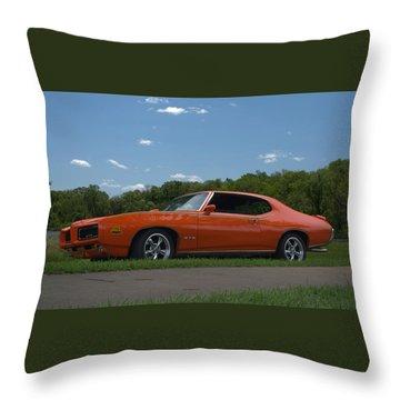 1969 Pontiac Gto Judge Throw Pillow