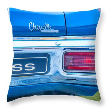 1970 Tailights Throw Pillow