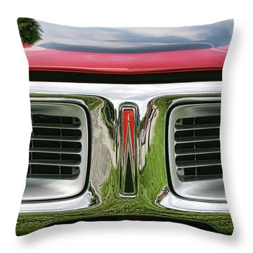 1972 Dodge Charger 400 Magnum Throw Pillow by Gordon Dean II