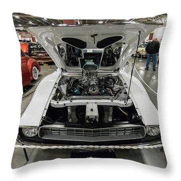 Throw Pillow featuring the photograph 1972 Javelin Sst 2 by Randy Scherkenbach