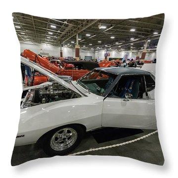 Throw Pillow featuring the photograph 1972 Javelin Sst by Randy Scherkenbach