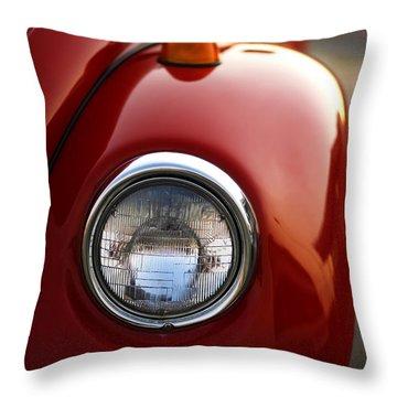 1973 Volkswagen Beetle Throw Pillow