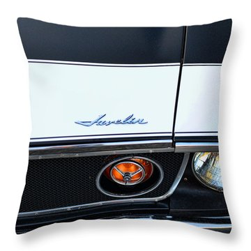 1974 Amc Javelin Front Throw Pillow by Paul Ward