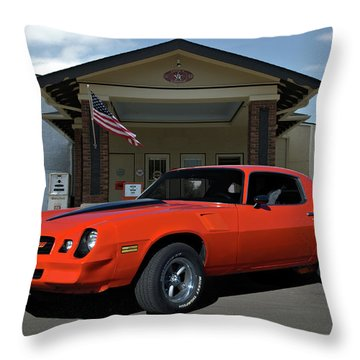 1981 Camaro Z28 Throw Pillow