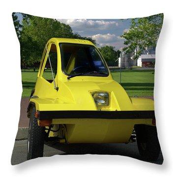 1981 Hmv Freeway Throw Pillow