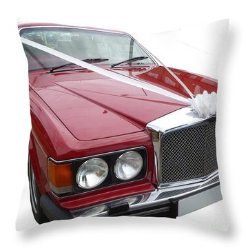 1997 Bentley Turbo R Throw Pillow