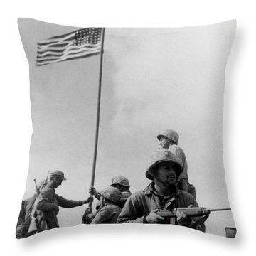Mount Rushmore Throw Pillows
