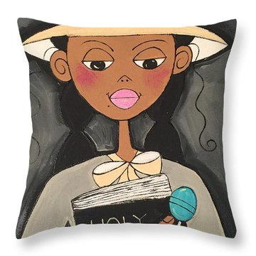 1st Sunday Throw Pillow