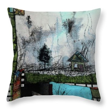 1tree, 1home By The Lake Throw Pillow