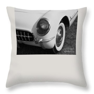 1953 Corvette Throw Pillow