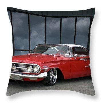 1960 Chevrolet Impala Throw Pillow
