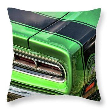 1969 Dodge Coronet Super Bee Throw Pillow by Gordon Dean II