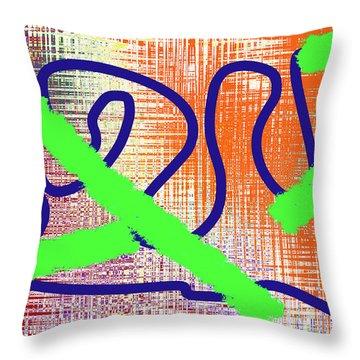 2-24-2057g Throw Pillow