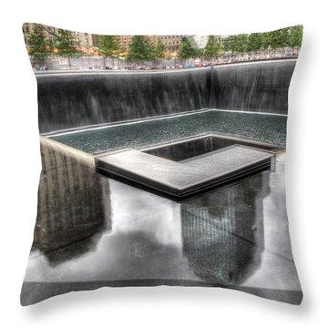 911 Memorial Throw Pillow